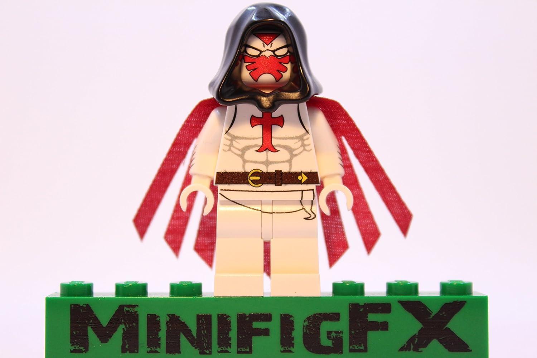 LEGO Custom Azrael Minifig DC Comics Batman Villain