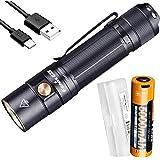 Fenix E35 v3.0 3000 Lumen High Performance EDC Flashlight with 5000mAh USB-C Rechargeable battery and LumenTac Battery…