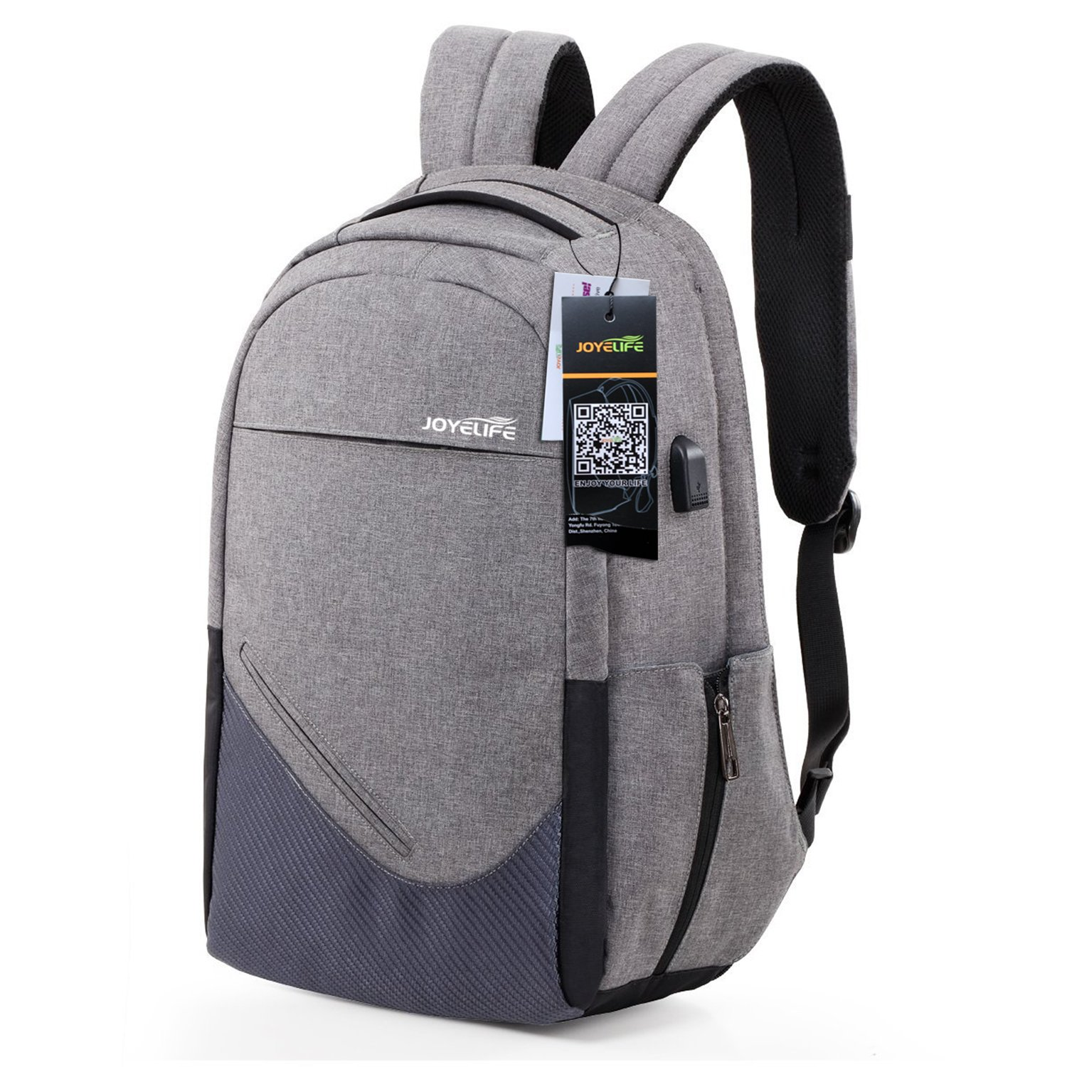 Amazon.com: Laptop Backpack for Men Women, JOYELIFE Anti Theft ...