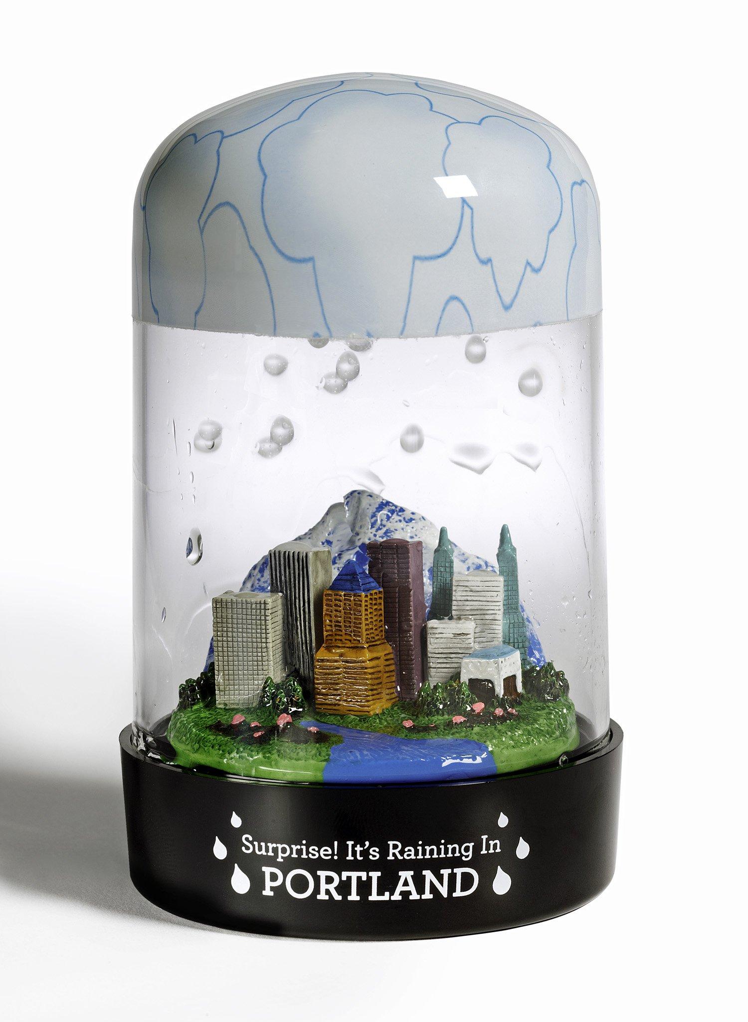 Portland RainGlobe - The Globe That Rains!