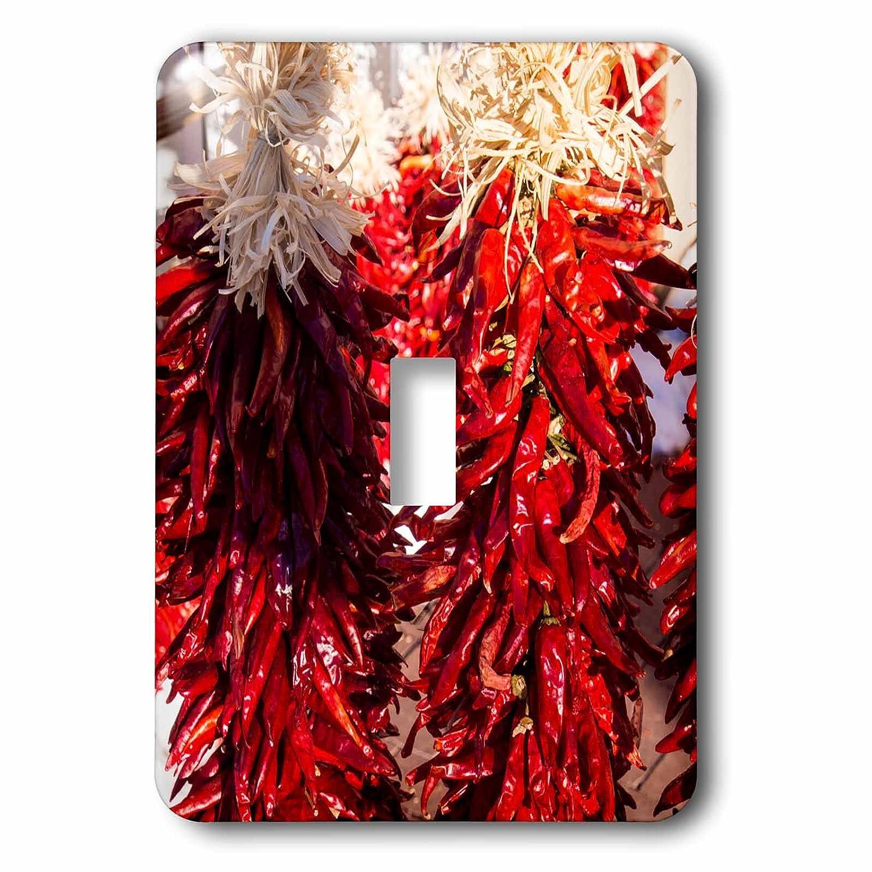 3drose B07BHK4X45 Danita Delimont – Food – アメリカ Food、新しいメキシコ 1、Sant Fe、Red Chili Peppers on文字列。Santa Fe – 照明スイッチカバー – シングルトグルスイッチ(LSP 279247_ 1 ) B07BHK4X45, 千代田町:2f4588b7 --- bistrobla.se