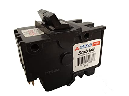 American Federal Pacific Circuit Breaker 2 Pole 70 Amp Thick Series