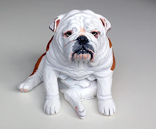 Popular English Bulldog Statue, English Bulldog Ornament, Pet Memorials  CI26