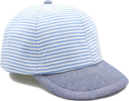 Baby Hats Summer Baby Boys Girls Kids Cotton Baseball Cap Sun Hat for 6-18M