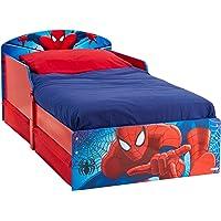 Spiderman Lit Enfant avec Tiroirs De Rangement Hello Home
