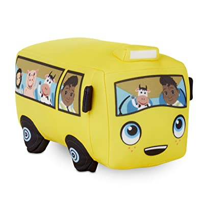Little Tikes Little Baby Bum Wigglin' Wheels On The Bus Official Plush Toy: Toys & Games