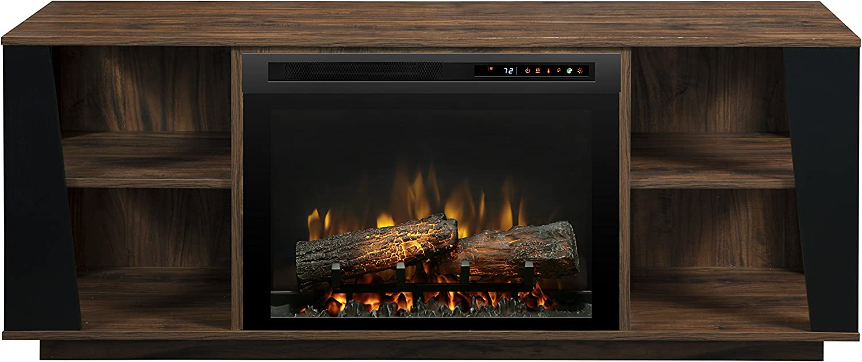 DIMPLEX Arlo Electric Fireplace, One Size, Walnut