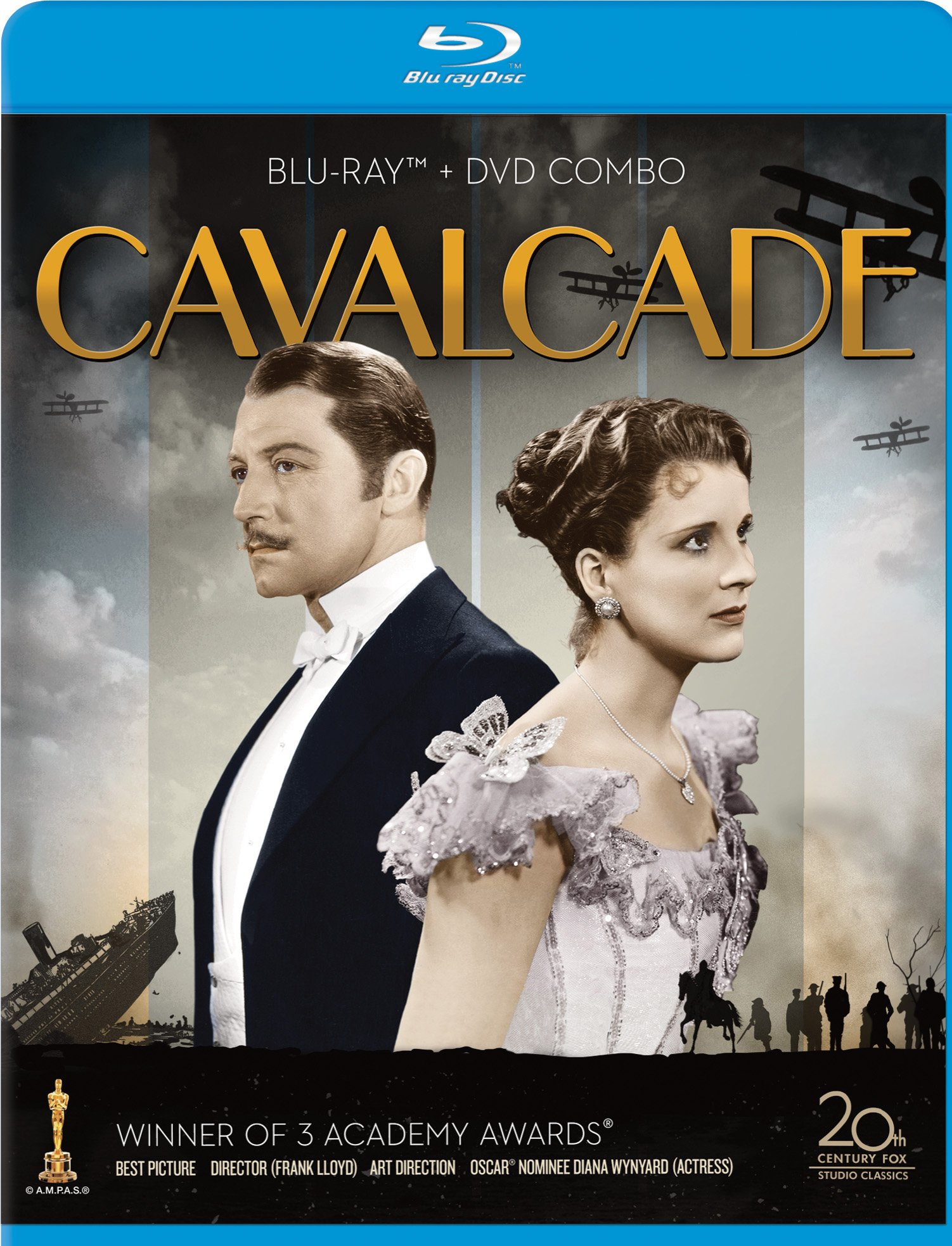Blu-ray : Cavalcade (With DVD, Full Frame, 2 Pack, , Digital Theater System)