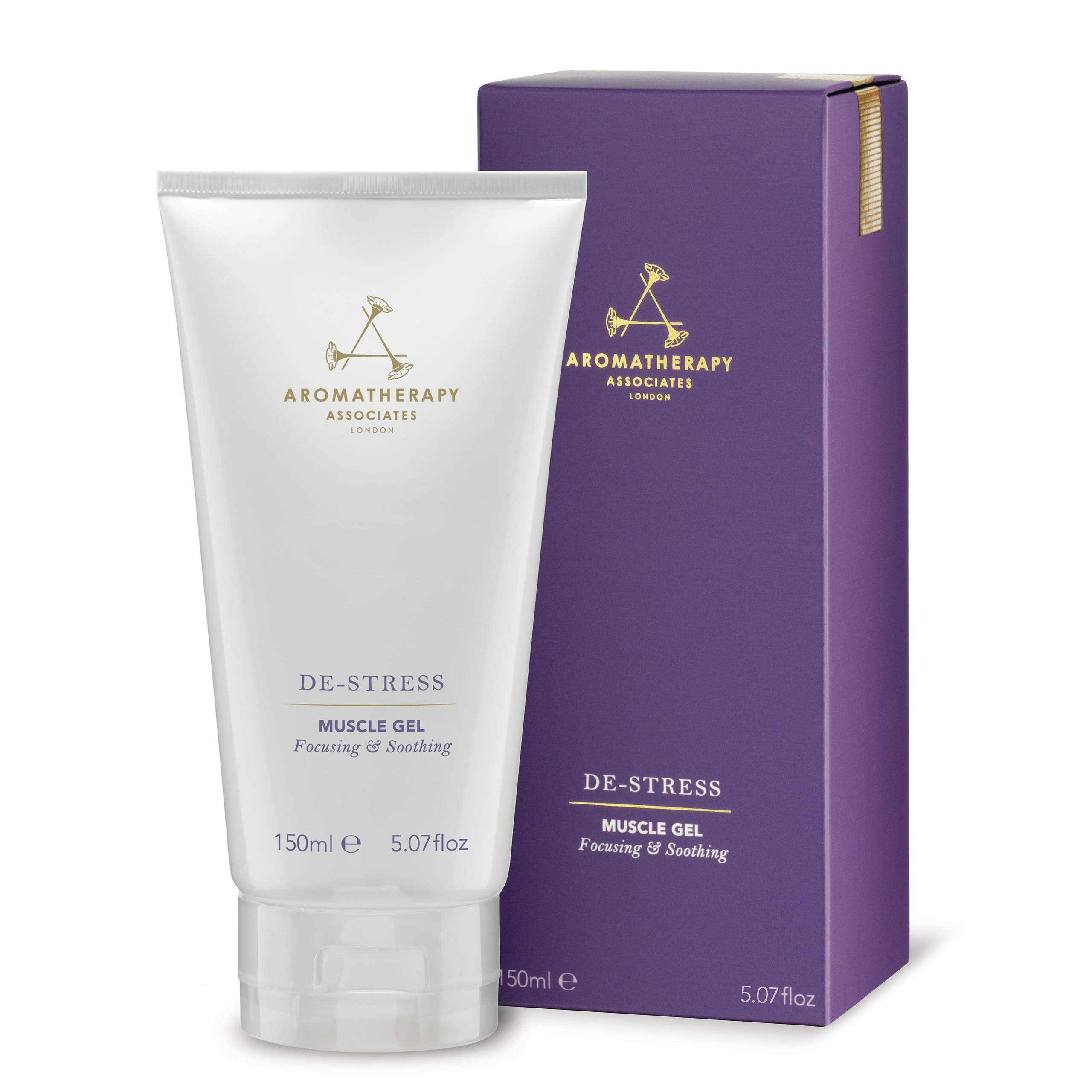 Aromatherapy Associates De-Stress Muscle Gel, 5.07 oz Tube - Pain Relief Cooling Gel For Joint and Muscle Aches and Soreness by Aromatherapy Associates