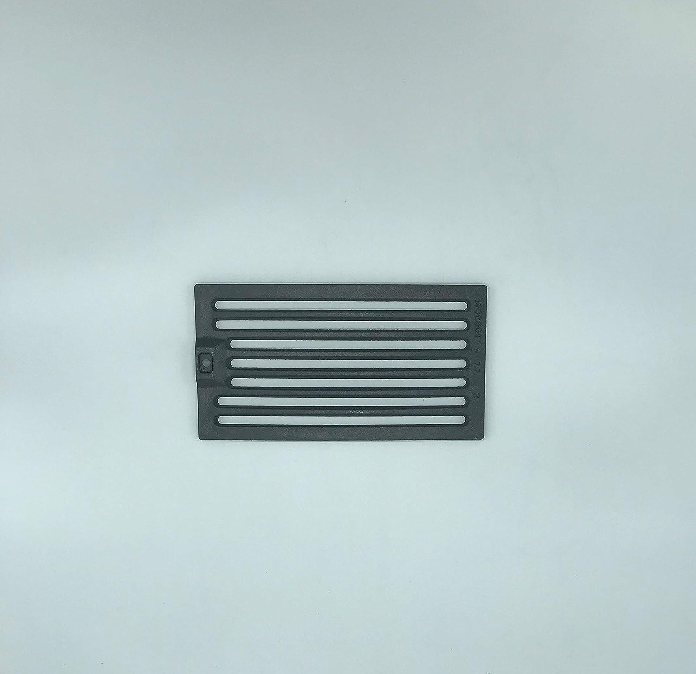 Rejilla de cenizas para estufa de leña, de hierro fundido, 14,5 x ...