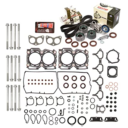 What Year Did Subaru Fix Head Gasket >> Evergreen Hshbtbk9008 Head Gasket Set Head Bolts Timing Belt Kit Fits 98 99 Subaru 2 5 Dohc 16v Ej25