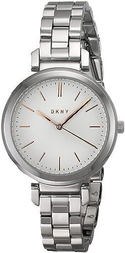 506f1d8cd959 DKNY Reloj Analogico para Mujer de Cuarzo con Correa en Acero Inoxidable  NY2582  DKNY  Amazon.es  Relojes