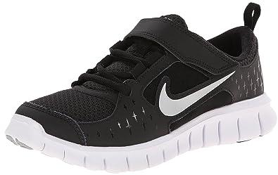 Nike Free Run 3 - Little Kids - Black White Wolf Grey Reflect eb48a0a6fbf4