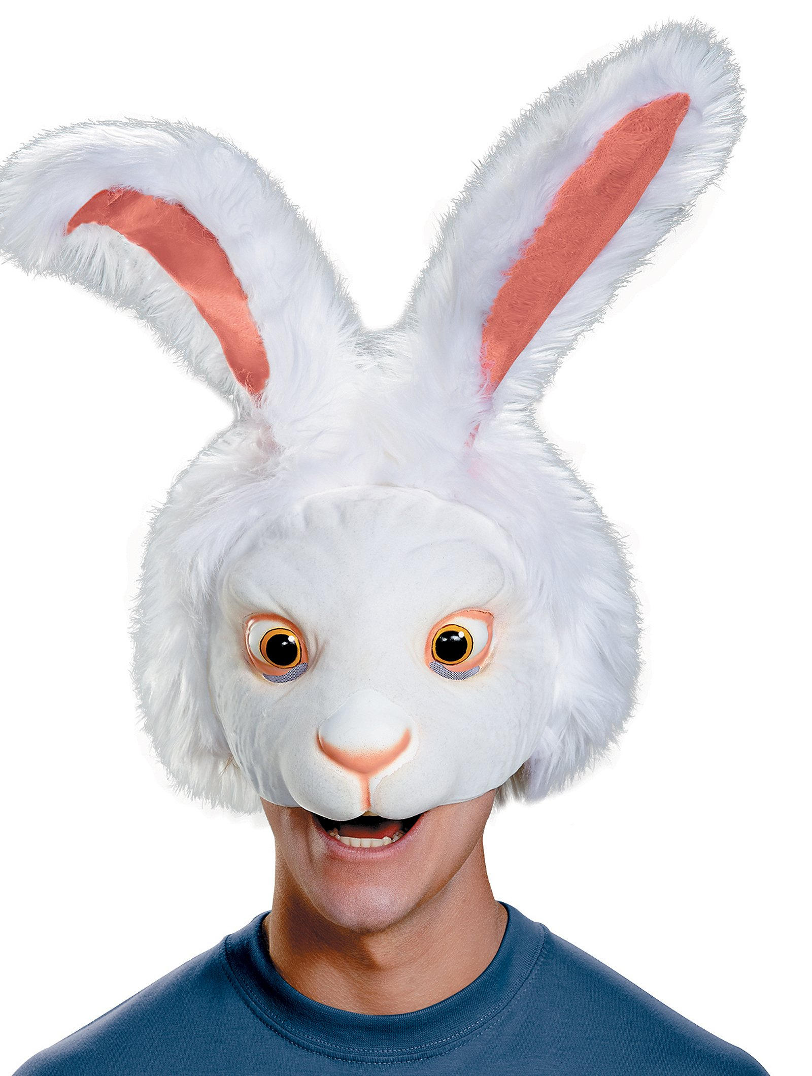 White Rabbit Headpiece Costume Mask