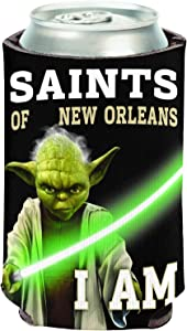 NFL New Orleans Saints Star Wars Yoda Can Cooler