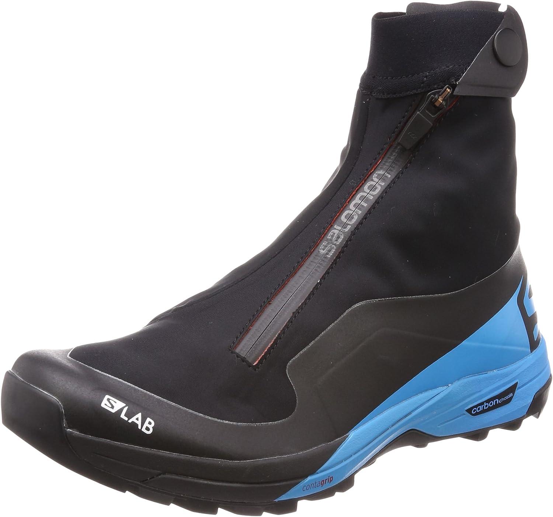 [サロモン] トレイルランニング シューズ S/LAB XA Alpine 2 (エスラボ エックスエー アルパイン 2) 黒/Transcend 青/Racing 赤 27.0 cm