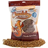 Chubby Mealworms Bulk Dried Mealworms for Wild Birds, Chickens etc.