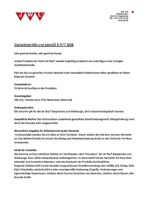 Jwl Sandstrahlpistole Druckluft Mit 1 2 Liter Becher Und 1 Kg
