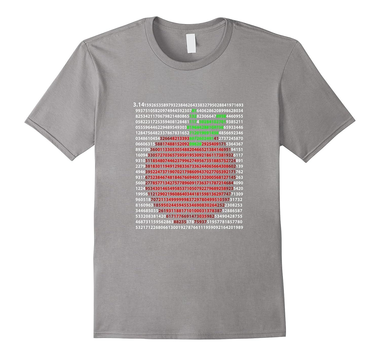 Apple Pi Day Shirt 314 First 1000 Digits  FUNNY PI SHIRT-TD