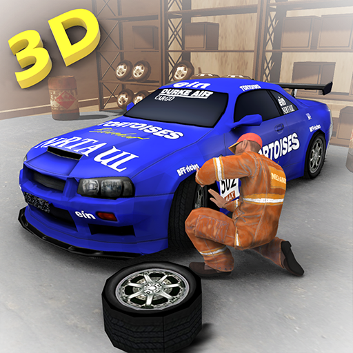 Car Mechanic Workshop 3D - Sports Shop Dirty