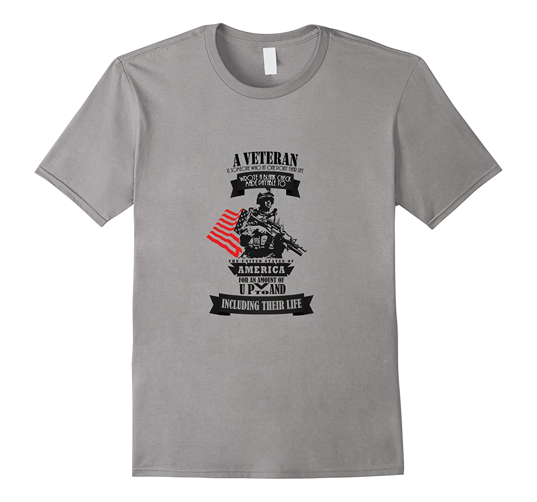 A Veteran American T-Shirt-BN
