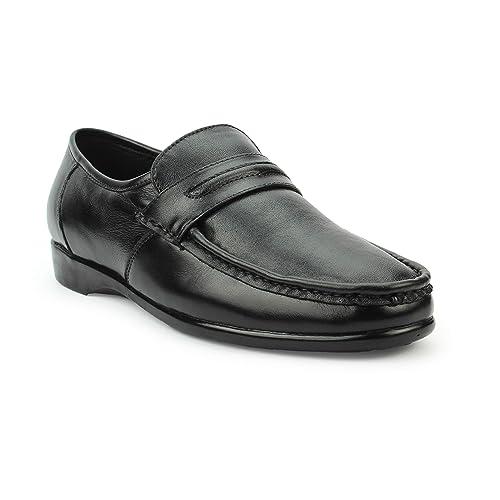 Genuine Leather Black Formal Shoes