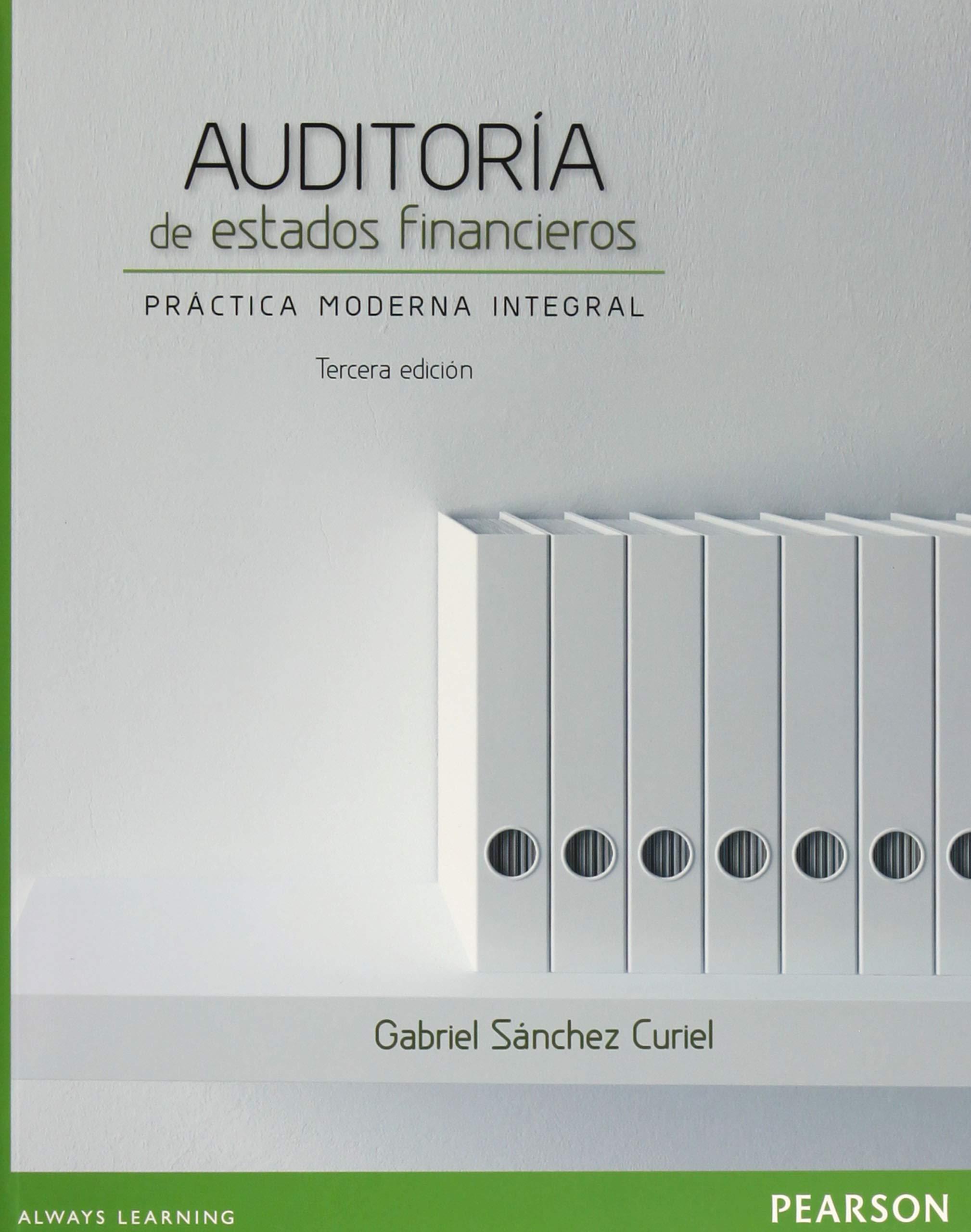 Auditoria de estados financieros (Spanish) Paperback – 2013