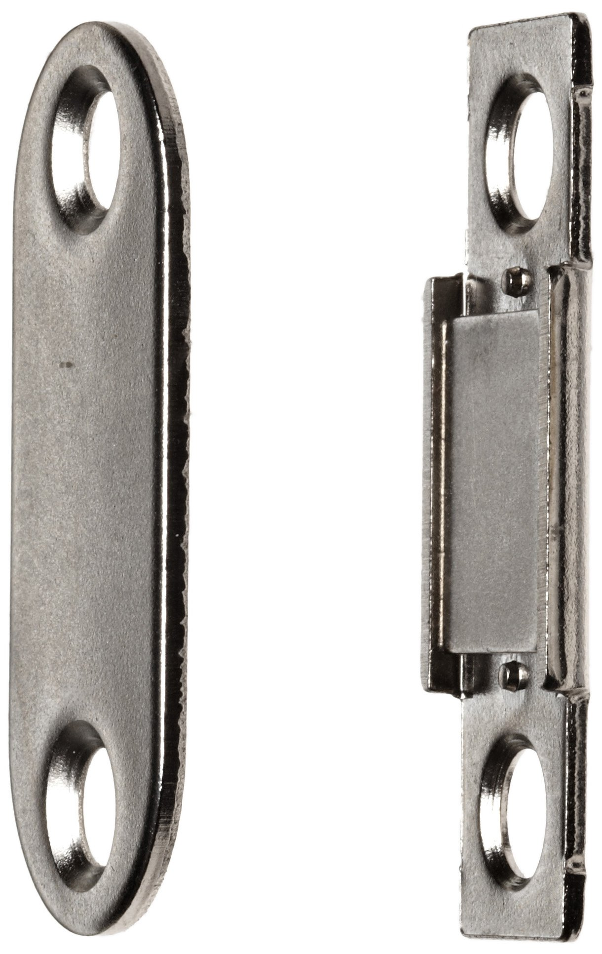 Steel Surface Mount Magnetic Catch, 5.9lbs Pull Power, 1-3/8'' Length, 15/32'' Width, 5/64'' Height (Pack of 2)