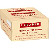 Larabar Gluten Free Bar, Peanut Butter Cookie, Dairy Free, 16 ct, 27.2 oz