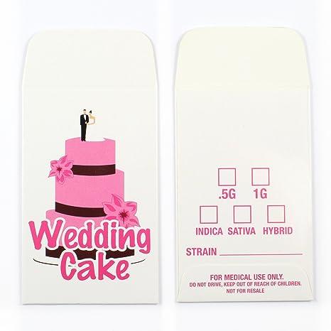 Wedding Cake Strain Concentrate Envelopes By Shatter Labels 275 50