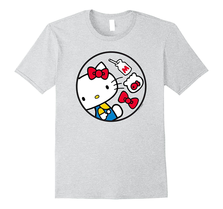 f4646d507 Hello Kitty Retro Circle Tee-RT – Rateeshirt
