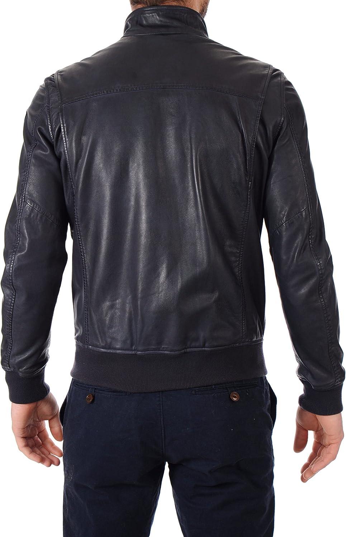 Mens Stylish Lambskin Genuine Leather Jacket 369