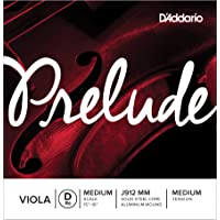 D'Addario Prelude - Cuerda individual Re para viola