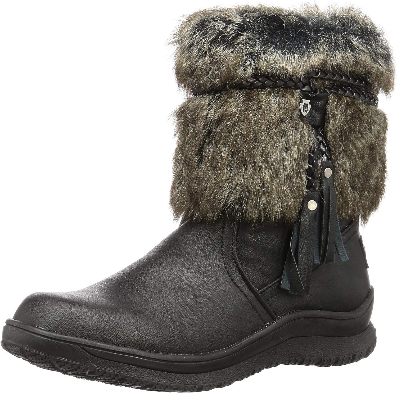 Everett Faux Fur Slip-On Boots