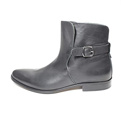 Buffalo Antique Herren Schuh Stiefeletten Boots Leder schwarz C1-2 ... 4e9790c850