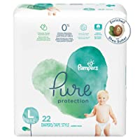 22 Count Pampers Pure Protection Disposable Baby Diapers