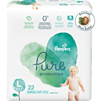 22-Count Pampers Pure Protection Size 4 Diapers Pack