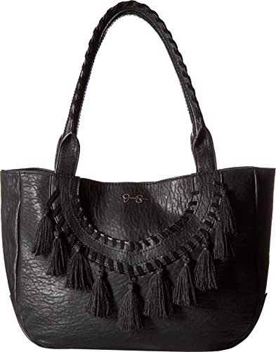 af36c16881 Amazon.com  Jessica Simpson Women s Laurel Tote Black Handbag  Shoes