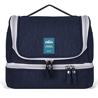 Designer Hanging Toiletry Bag  Travel Cosmetics Bag by HANKCLES  Waterproof  Nylon Organizer for Travel. Amazon com  Designer Hanging Toiletry Bag  Travel Cosmetics Bag by