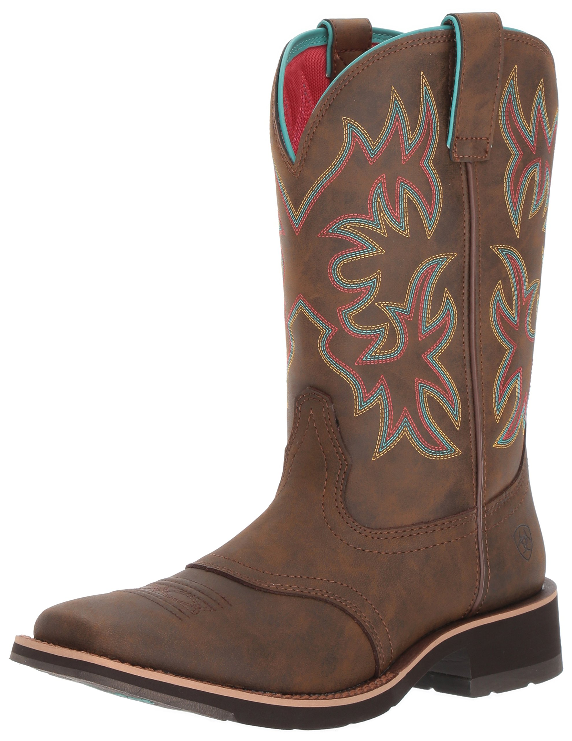 Ariat Women's Delilah Work Boot, Toasted Brown, 10 B US by Ariat
