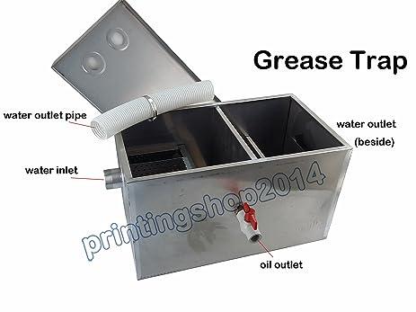 Amazon.com: 13GPM Grease Traps Restaurant Kitchen Waste Filter ...