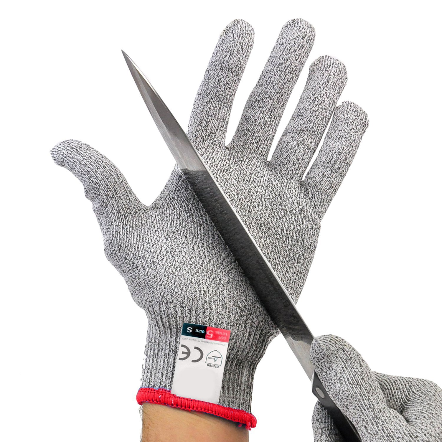 amazoncom platinum oyster glove no cut resistant high  - amazoncom platinum oyster glove no cut resistant high performance level protection food grade all sizes perfect gift for that chef culinary cncrouter