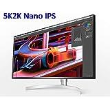 """LG 34WK95U-W 34""""UltraWide 5K Nano IPS LED Monitor with Built-In Speakers, 5120x2160"""