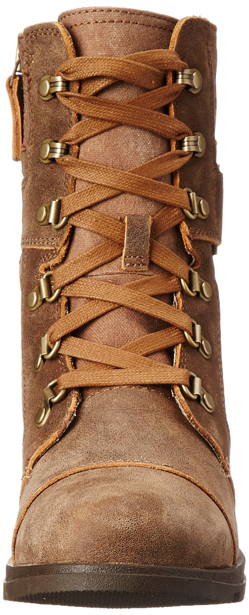 Sorel Women's Major Carly Snow Boot, Nutmeg, Flax, 8 B US by SOREL (Image #4)
