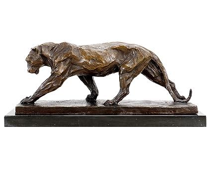 24f7b11b Amazon.com: Kunst & Ambiente Bronze Animal Figurine - Walking ...