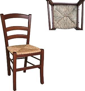 Sedie In Legno Da Colorare.Sedia In Legno Da Verniciare Seduta In Paglia Ristorante Casa