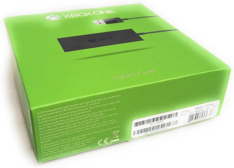 Microsoft Xbox One Digital TV Tuner - accesorios de juegos de pc (Negro): Amazon.es: Videojuegos