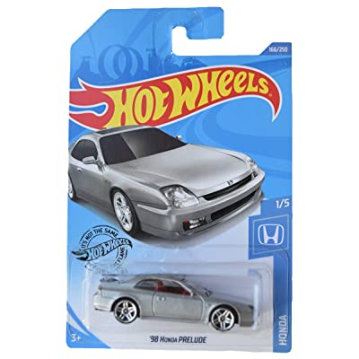 Hot Wheels 1/5 '98 Prelude 166/250, Silver: Toys & Games