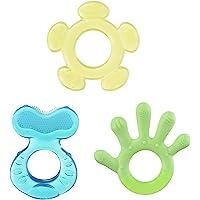 Nuby 3 Step Soothing Teether Set, BPA Free - Colors may vary.