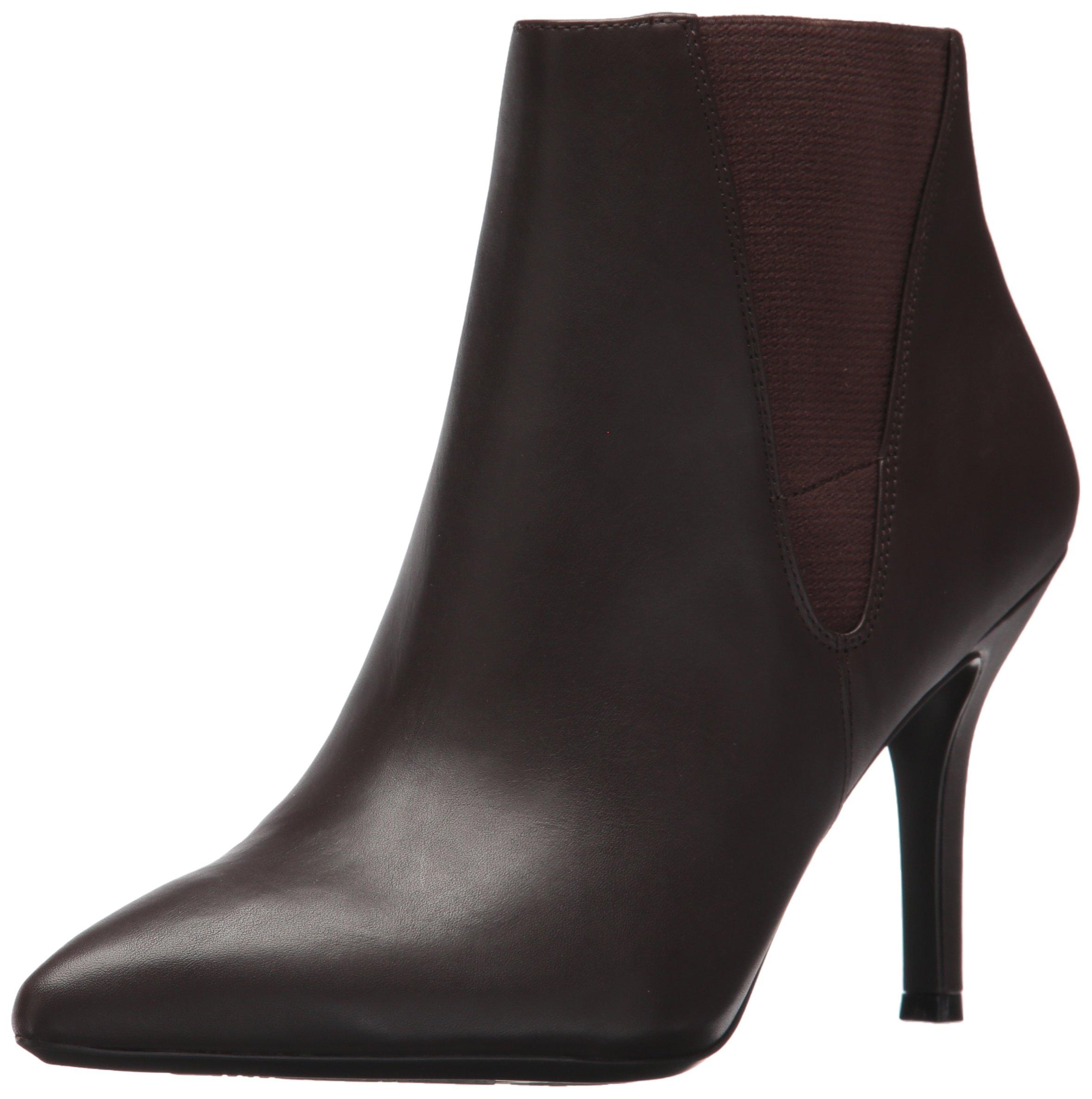 Nine West Women's FRONT9X9, Dark Brown/Dark Brown Leather, 9 M US